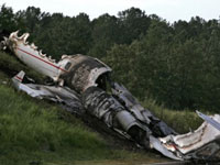В Тверской области разбился частный самолет