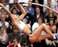 Исинбаева подписала рекордный для легкоатлетов рекламный