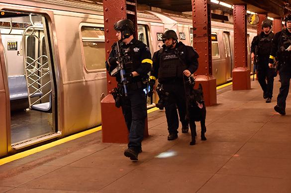 Антитеррористические учения в Нью-Йорке