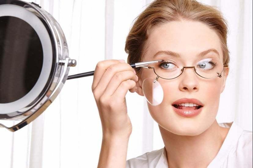 Какой мейкап выбрать, если вы носите очки?. Макияж для тех, кто носит очки
