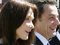 Саркози и его супруга ждут первенца