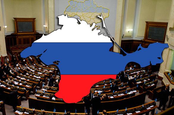 Украина предлагает признать Крым автономией крымско-татарского н