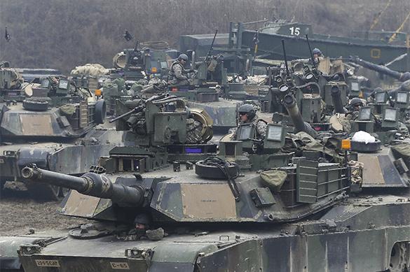 США угрожают новой войной в Корее