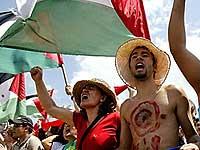 Бразильцы устроили акцию протеста против визита Ахмадинежада