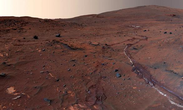 Ученые: на Марсе существовало огромное море. 377388.jpeg