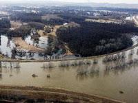 Жертвами наводнения в Чехии стали десять человек