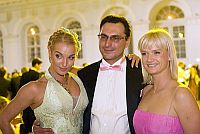 Анастасия Волочкова с мужем и Светланой Хоркиной
