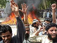 Главный аэропорт Афганистана подвергся ракетному обстрелу