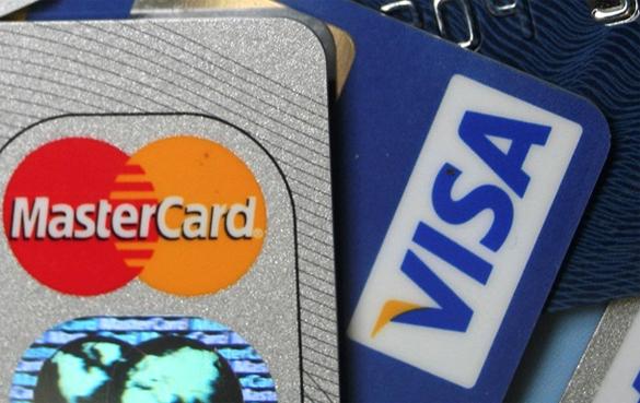 Китайское предупреждение для Visa и MasterCard. Платежные карты Visa и Mastercard