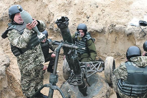 Детский сад обстреляли на Донбассе
