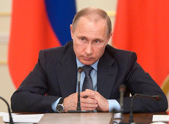 Путин измерил уровень стресса. Путин измерил уровень стресса