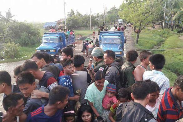 Мьянма: новая Сирия на подходе. Добровольцы и войска Мьянмы эвакуируют буддистов из Ракхайна
