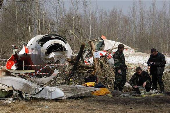 Варшава назвала место взрыва наборту Ту-154 Качиньского