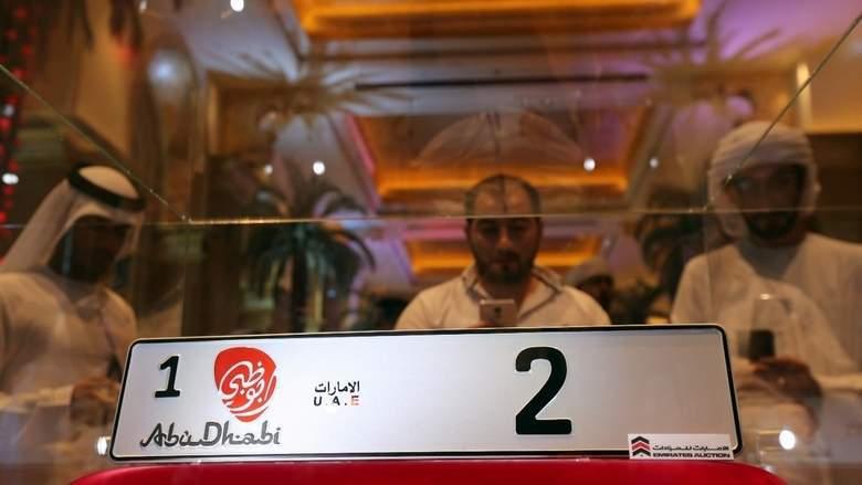 Арабский бизнесмен купил автомобильный номер за три миллиона долларов