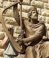 В Иерусалиме осквернили памятник царю Давиду