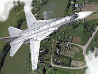 Военный самолет случайно разбомбил жилой дом