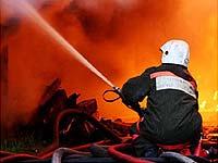 В Курске локализован крупный пожар