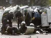 В ходе беспорядков в Кишиневе пострадали 400 силовиков