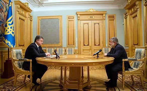 """Порошенко """"зачищает"""" Днепропетровскую область от влияния Коломойского. порошенко и коломойский"""