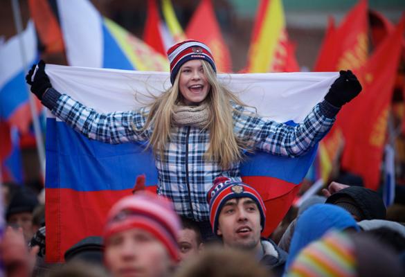Приднестровье перешло под российский флаг