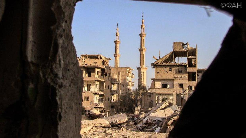 Размещено видео ликвидации полевых командиров «Джебхат ан-Нусры»