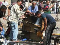 Двойной взрыв в Багдаде унес 18 жизней. Ирак