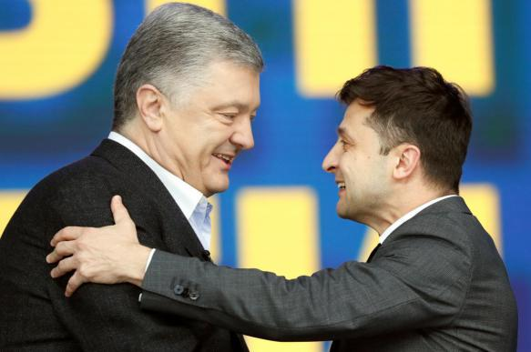 Дебаты Зеленского и Порошенко собрали в рунете более 2 млн просмотров. 403401.jpeg