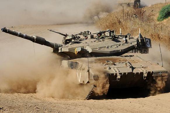 Израиль отправляет военных и технику к сектору Газа. 401402.jpeg