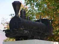 Памятник-паровоз появился в Волгограде