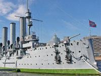 Во время экскурсии на крейсере