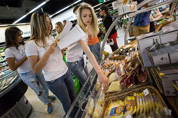 Россияне ощутили взлет цен на еду