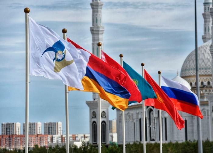 флаги евразийского союза