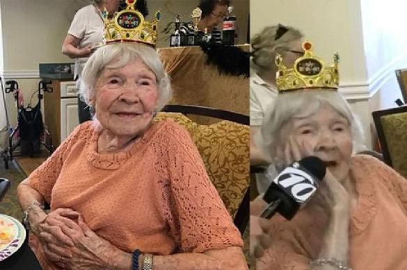 105-летняя американка поделилась секретом своего долголетия. 388404.jpeg
