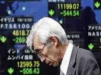 Торги на Уолл-стрит снова вызвали падение котировок в Токио
