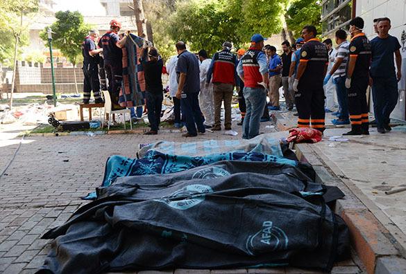 Турция, теракт в Суруче