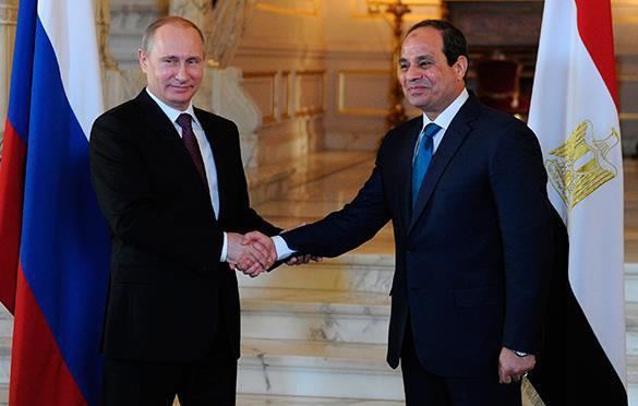 Египет голосует за многополярный мир.