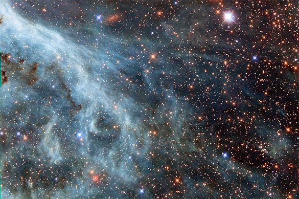 Появилось изображение галактики-самоубийцы
