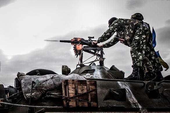 Киев намерен пригнать тяжелое вооружение к линии разграничения на Донбассе. Киев намерен пригнать тяжелое вооружение к линии разграничения н