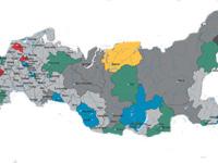 Названы 13 кризисных регионов России