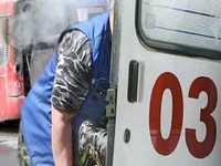 На трассе в Оренбургской области опрокинулся автобус