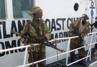 Сомалийские пираты захватили украинских моряков