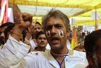 В Дели разогнали митинг, созванный голодавшим гуру. delhi