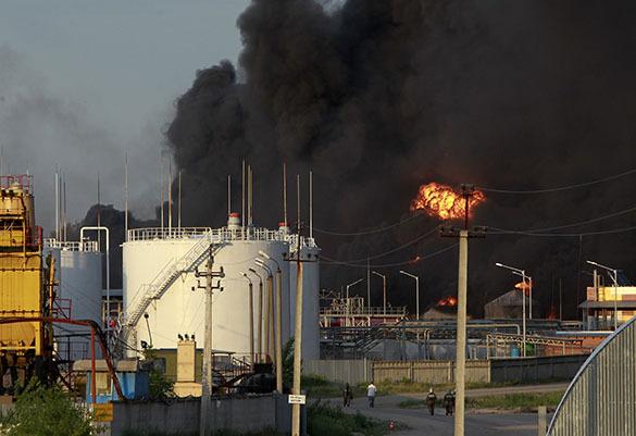 Украинский эколог:  Кислотные дожди после киевского пожара могут пролиться где угодно. Пожар под Киевом