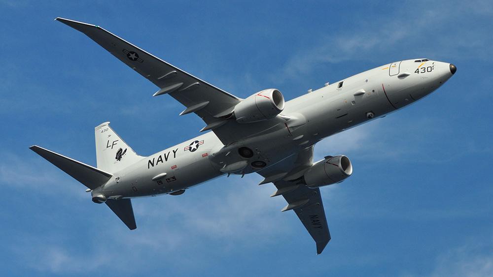 Самолет США провел разведку у границ Калининградской области
