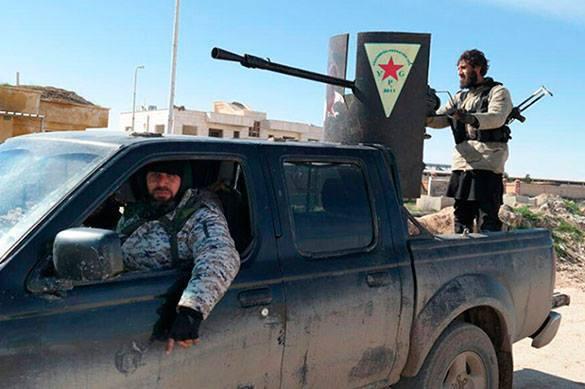 Курдские отряды окружили столицу ИГ Ракку, перерезав стратегич