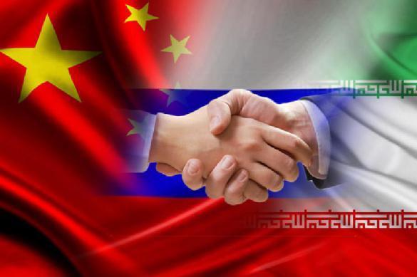 Иран предложил РФ иКитаю стратегию борьбы сСША— Союз 3-х стран