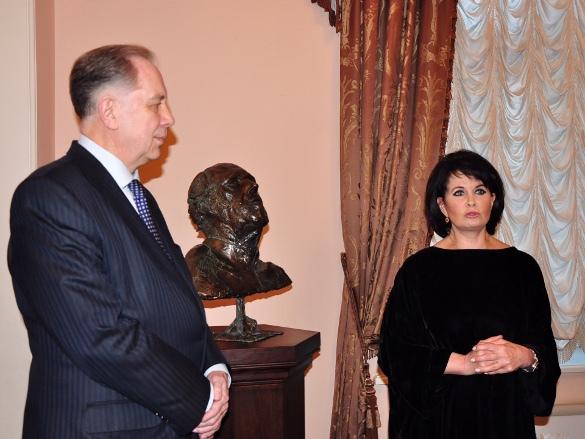 Александр Соколов и Ольга Ростропович