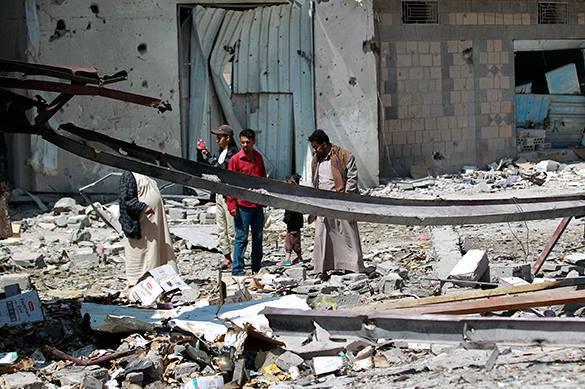 Cаудовская Аравия сбрасывала на Йемен кассетные авиабомбы