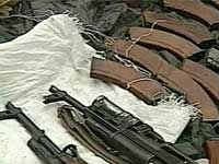 На юге Таджикистана обнаружен крупный склад оружия