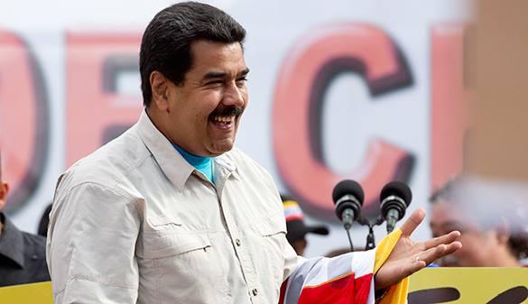 Мадуро поедет в США и бросит вызов Обаме. Президент Венесуэлы Николас Мадуро